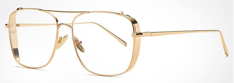 34583a7251 Lunette sans correction Narcos dorée 24,90 € #lunettes #eyewear #eyeglasses  #vintage #lunettevintage