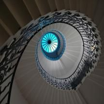 Tulip Staircase, Queens House, Greenwich, London by Strabanephotos