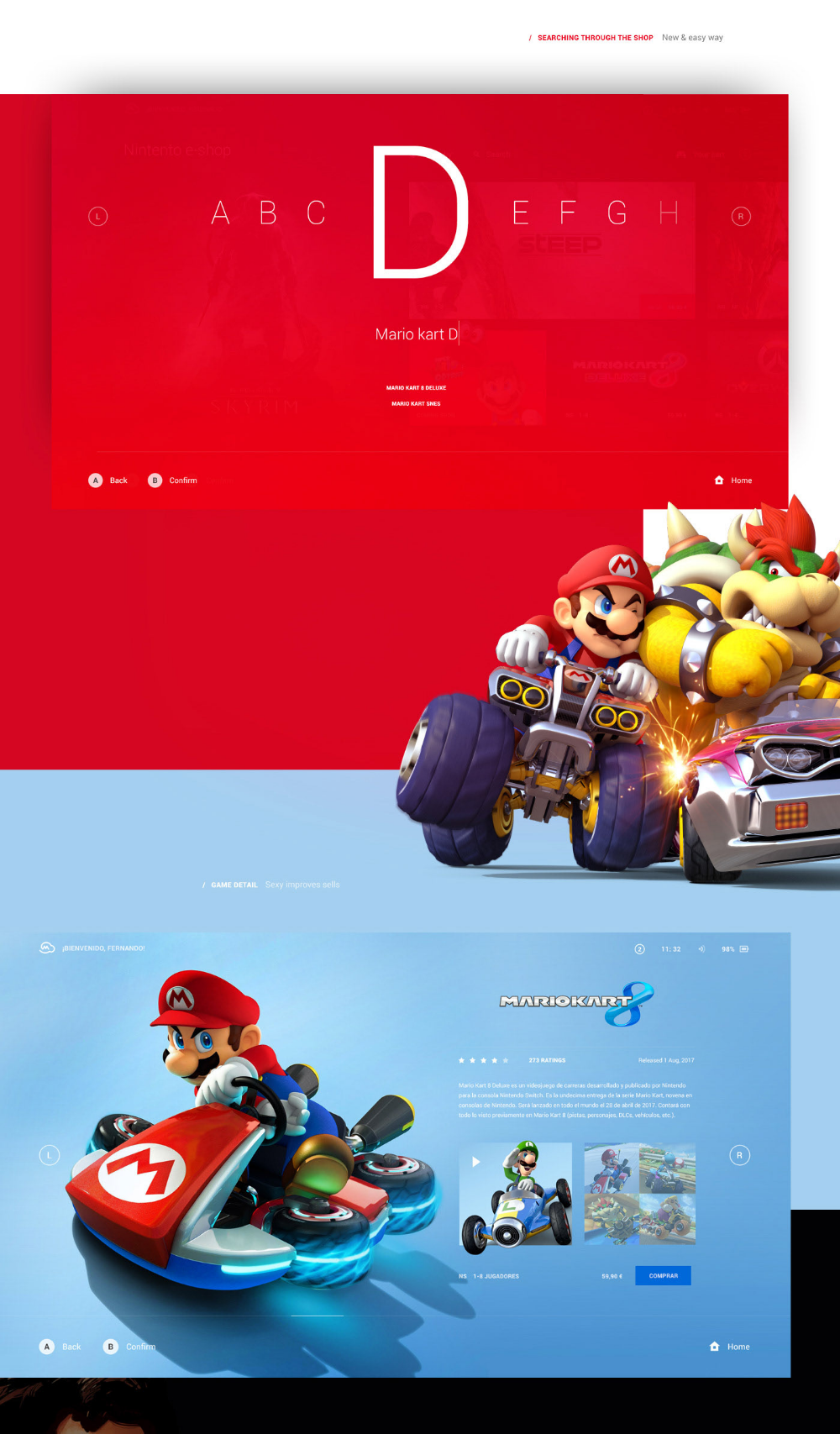 Behance Search (With images) Nintendo, Logo design