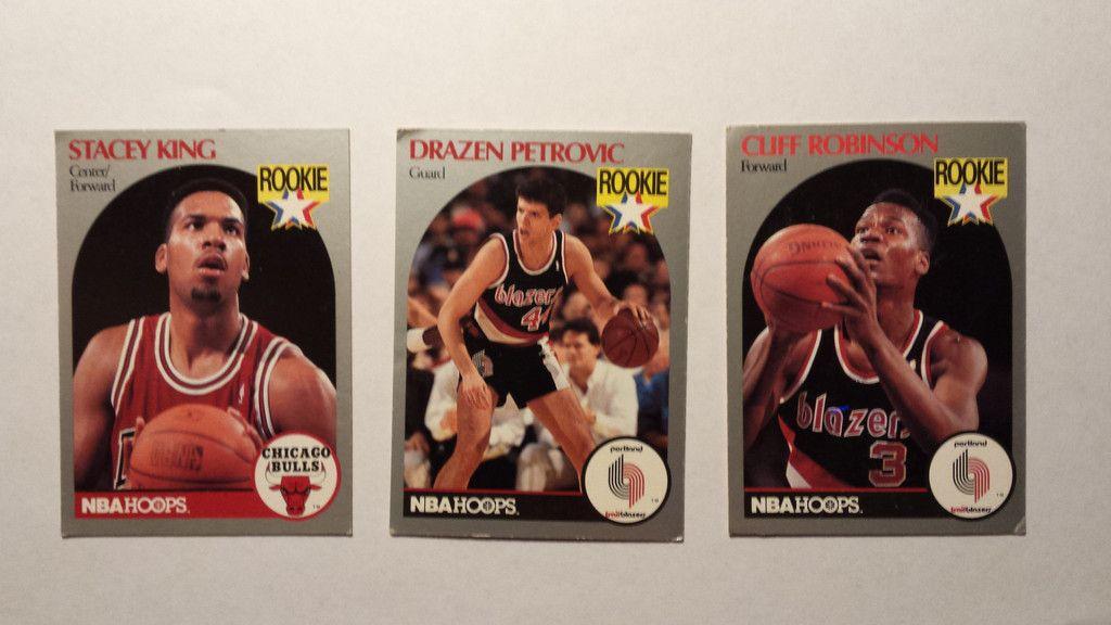198990 NBA Hoops single basketball rookie cards Nba