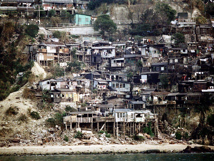 Hong Kong, Coastal Dwellings, 1972