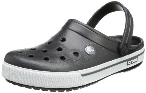 a0d28e379d78a2 crocs Unisex Crocband Clog US Women   10 US Men Slip-on clog in Croslite  featuring perforated vamp and pivoting heel strap Advanced toe box  ventilation