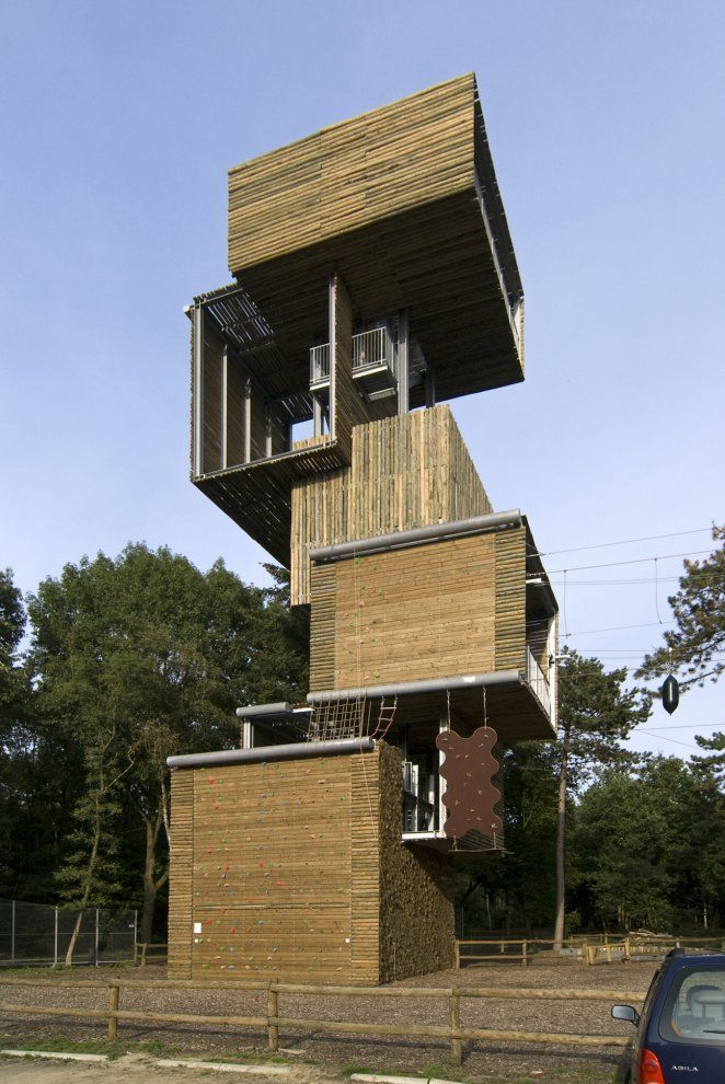 Add Some Inspiration If Possible Viewing Tower Reusel By Ateliereen Architecten Architecture Landmark Rural Architecture Amazing Architecture