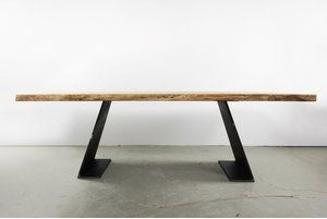 Photo of Table cheeks Farum solid steel | Industrial design