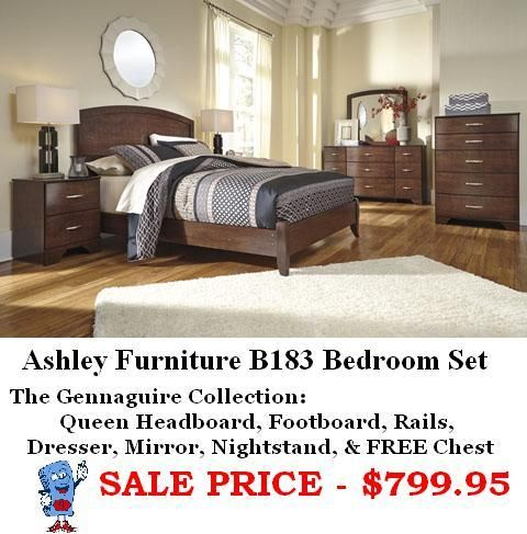Ashley Furniture B183 Bedroom Set Bedroom Sets Furniture Queen