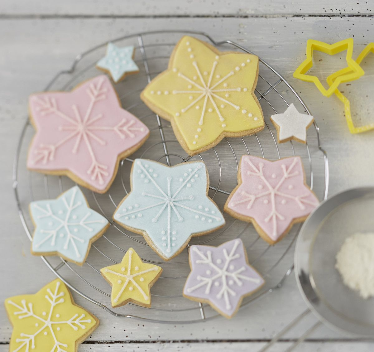How To Make A Star Biscuit Christmas Tree Yeme Icme Christmas