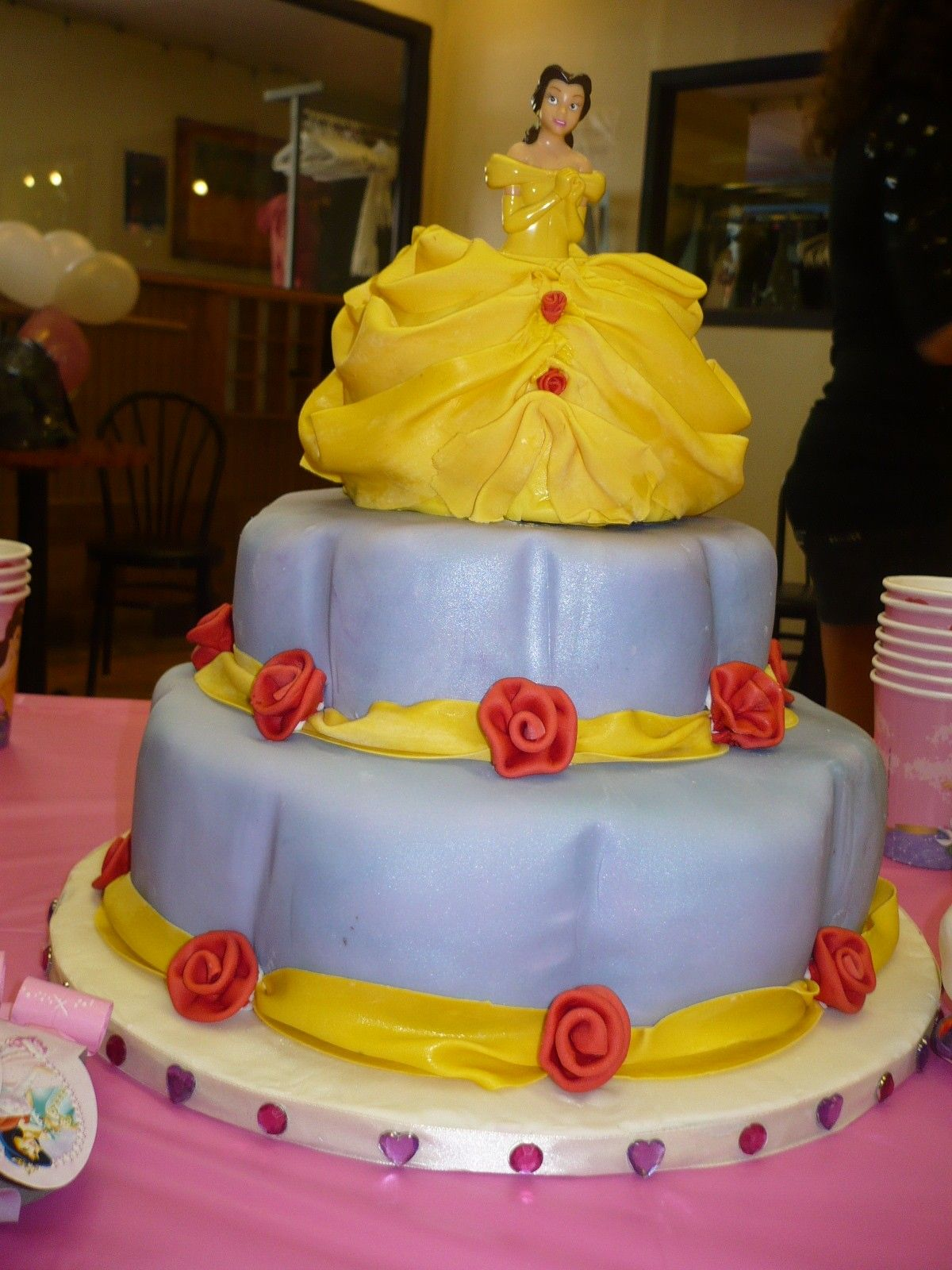 Beauty and the Beast Birthday Cake Beauty and the Beast 4th