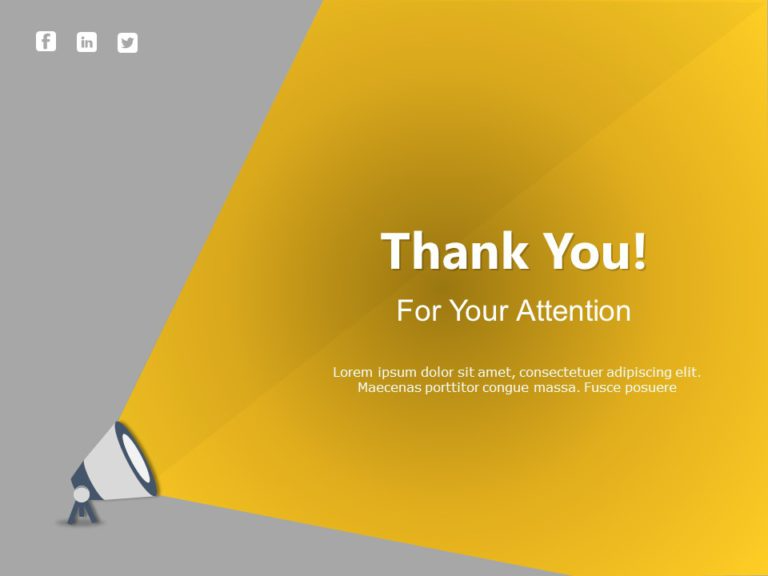 Thank You Slide 21 In 2021 Power Point Template Email Newsletter Template Powerpoint Templates