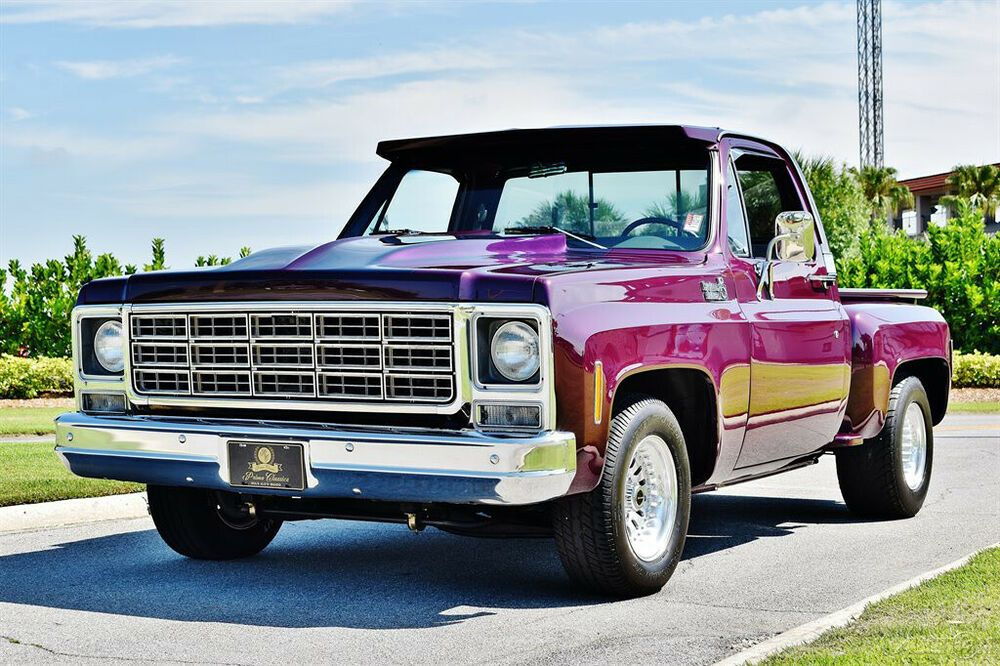 (eBay Advertisement) 1978 Chevrolet C10 Big block 396