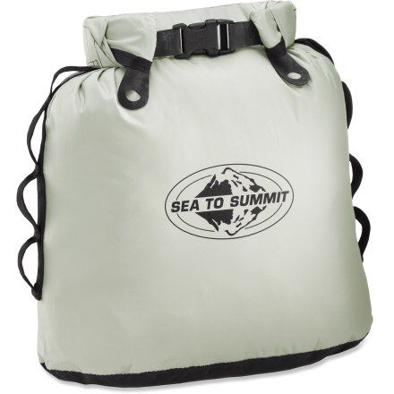 I always mean to bring trash bags to pick up trash I see too.. And the no smelling the trash is a pretty sweet selling factor http://www.rei.com/product/783015