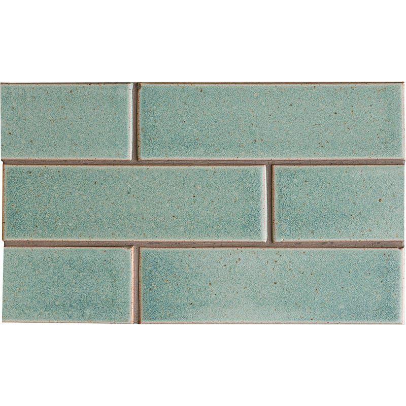 Weathered Jean Leather Ceramic Tiles 2 1 8x7 1 2 Country Floors Of America Llc Ceramic Tiles Glazed Brick Flooring