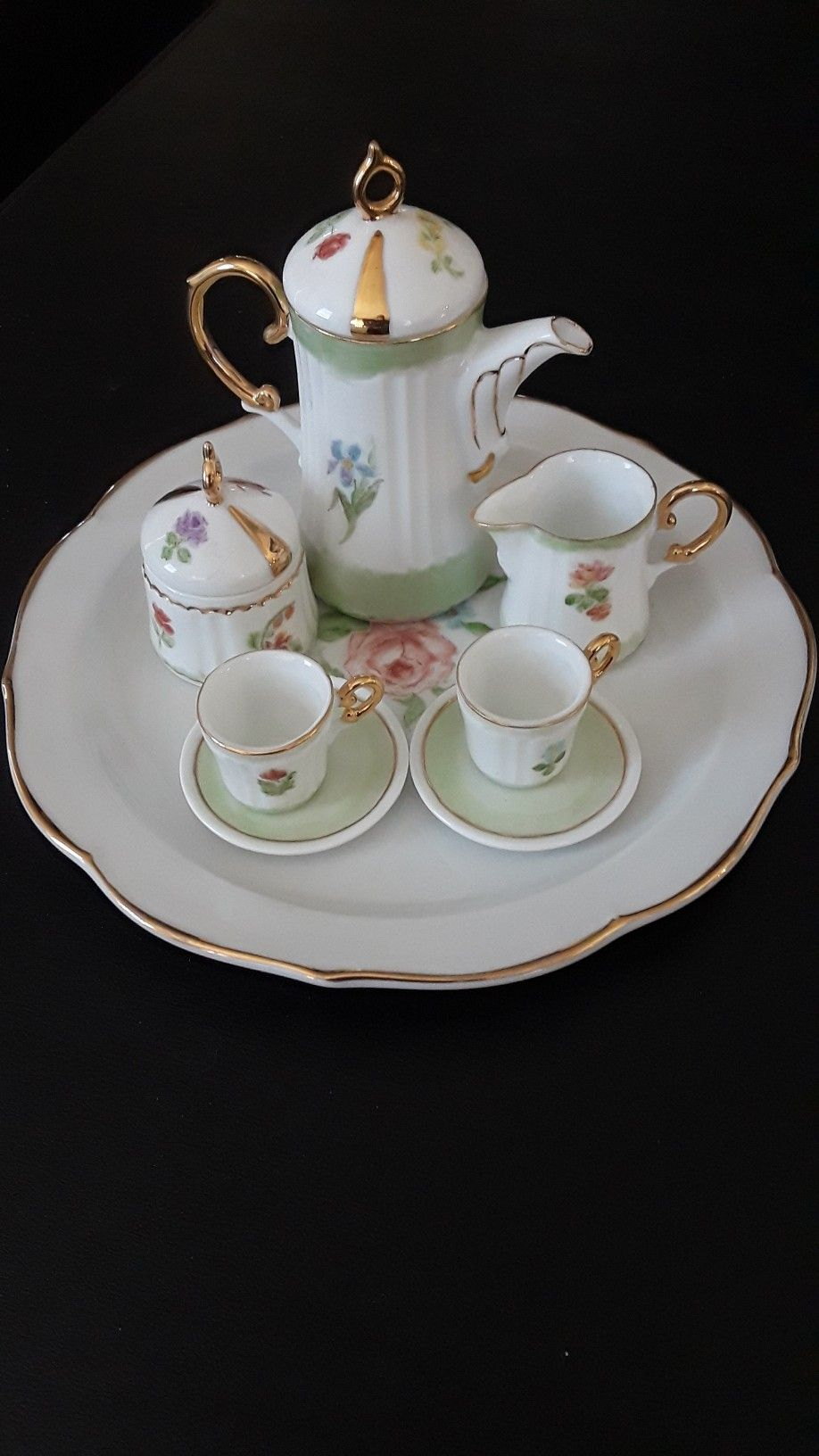 Pin By Carol Munro On Childrens Tea Sets With Images Mini Tea Set Childrens Tea Sets