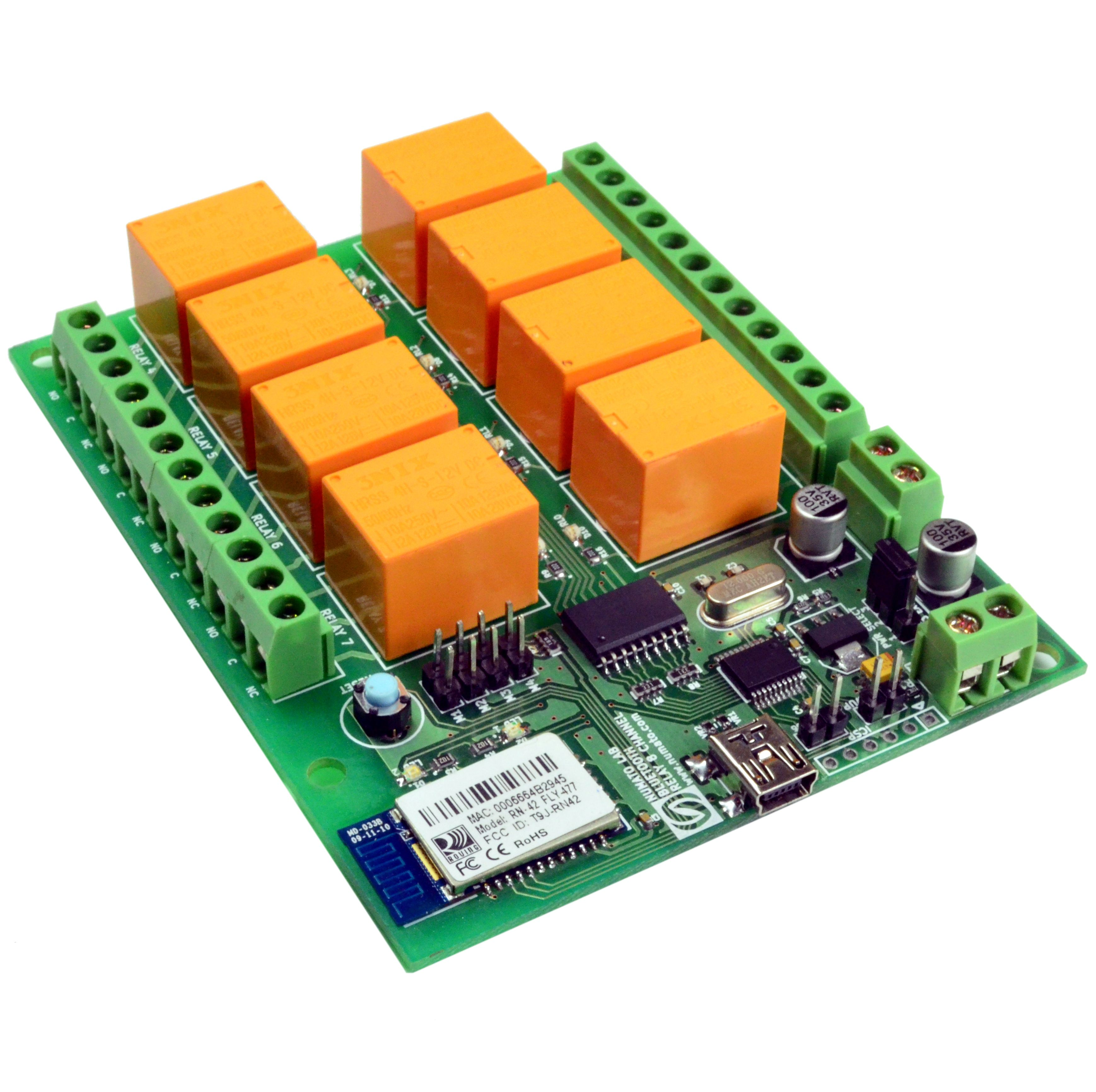 8 Channel Bluetooth relay module  Control things from a