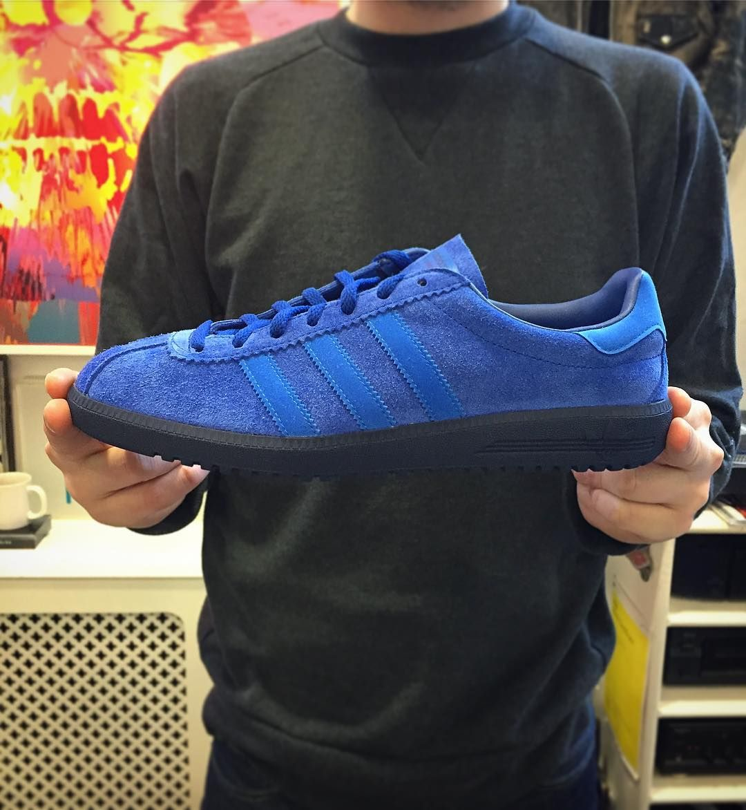 New  adidasoriginals  Bermuda  in royal blue suede are now available in  store and also via our website priced 75.  adidas  adidasoriginals  bermuda  ... cb5c3a118