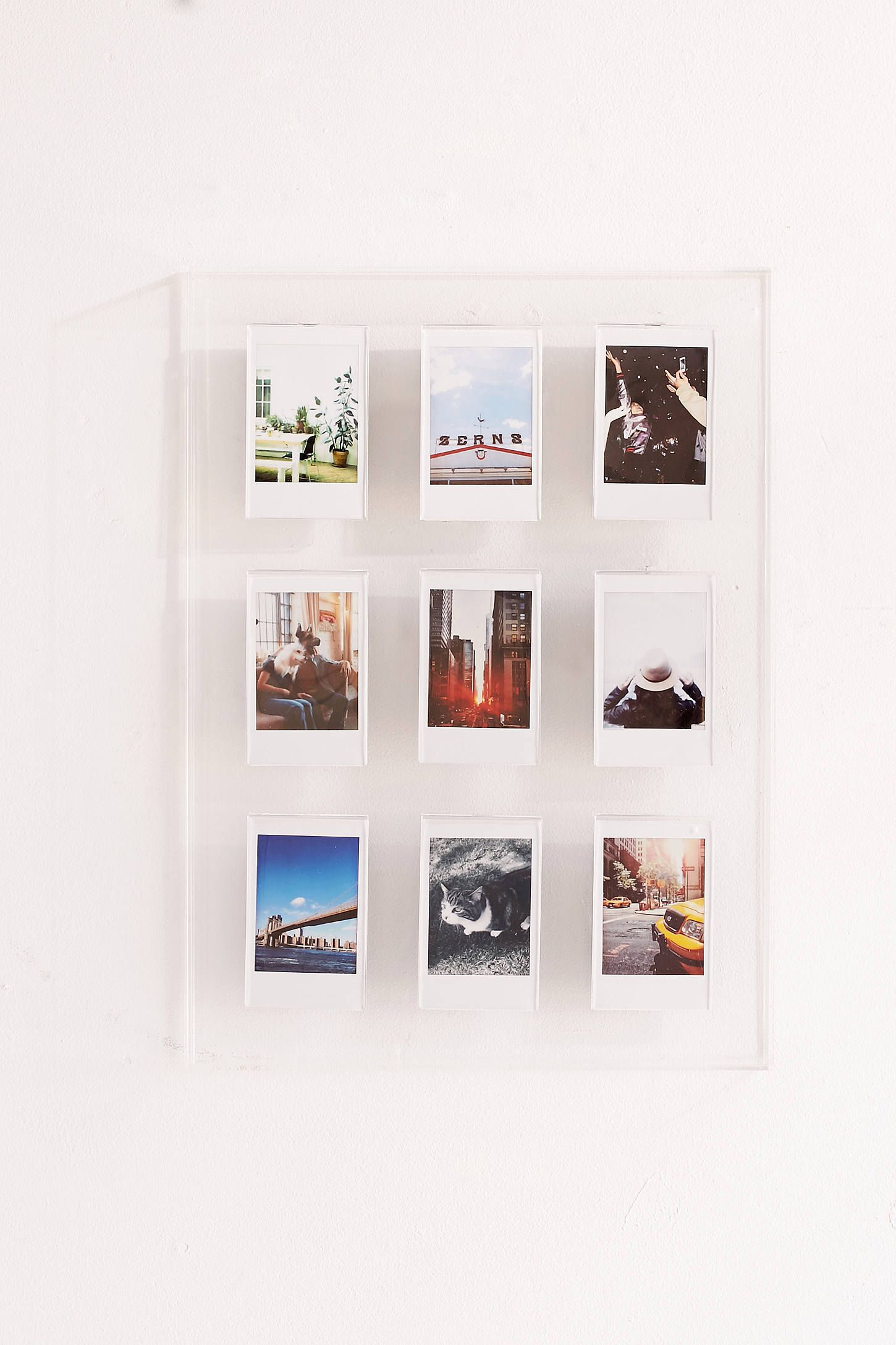 Instax Acrylic Gallery Multi Picture Frame   Pinterest