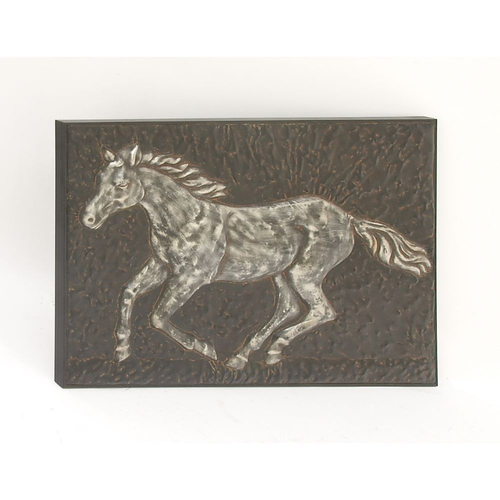 Antique metal horse wall decor products pinterest antique