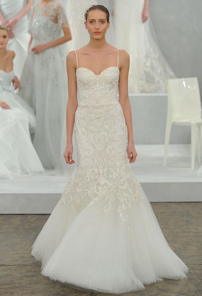 Monique Lhuillier Spring 2015 Wedding Dresses | Monique lhuillier ...