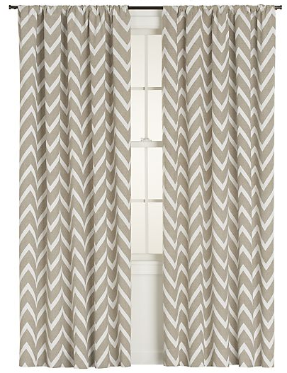 Chevron Curtains From Crate Barrel Panel Curtains Home Decor