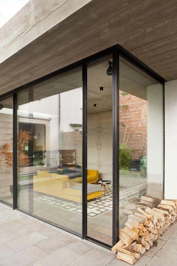 double concrete house houses concrete houses, house, concretedouble concrete house inter urban studios archinect