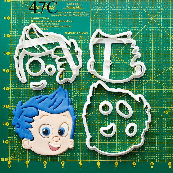Bubble Guppies Cookie Cutter bubble guppies birthday,bubble guppies birthday outfit,bubble guppies banner