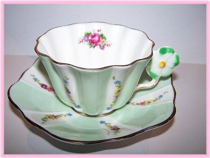VINTAGE Spencer Stevenson Tea Cup