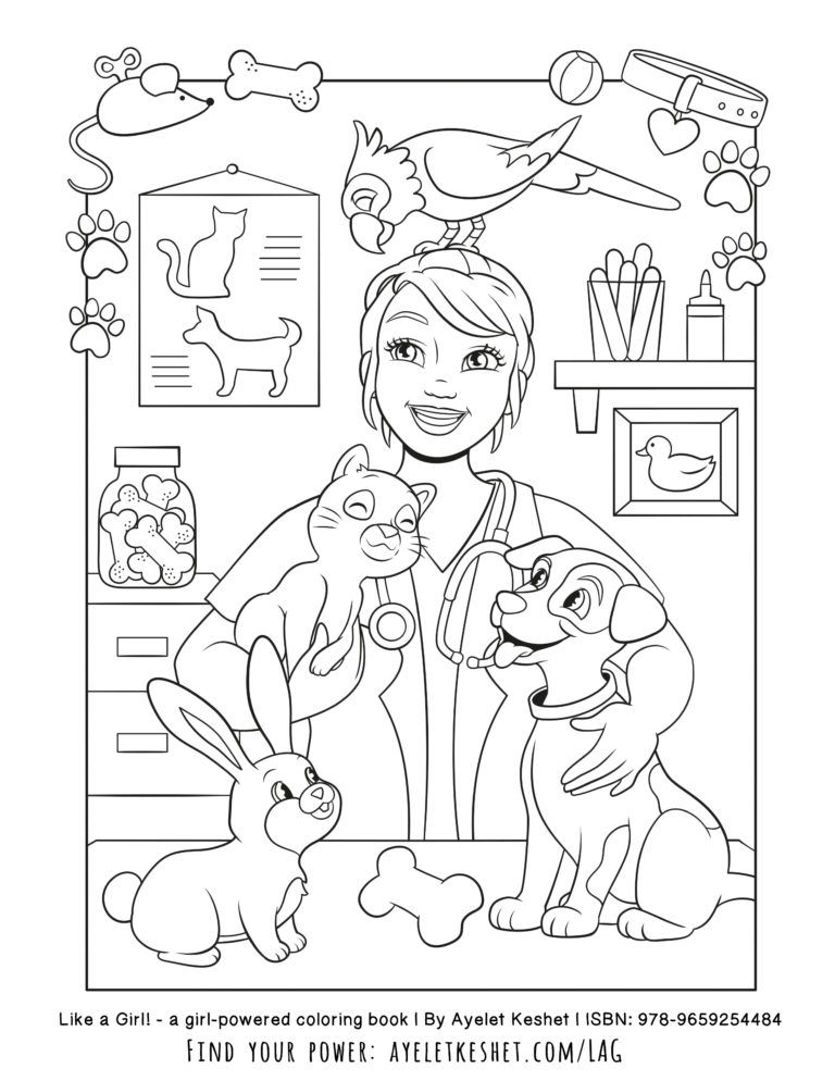 Free Printable Coloring Pages With An Empowering Message For Girls Coloring Books Preschool Coloring Pages Coloring Pages