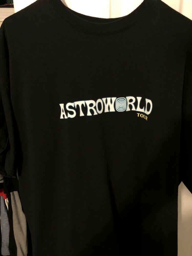 d2eead153967 TRAVIS SCOTT ASTROWORLD TOUR MERCH never worn brand new size XL #fashion  #clothing #