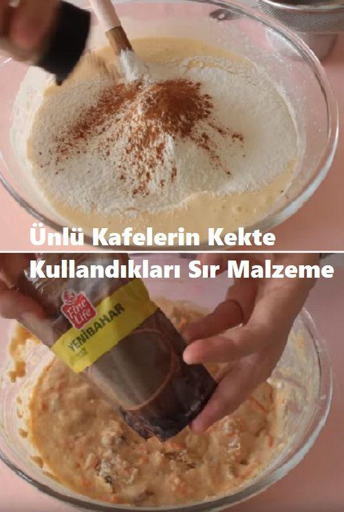 Das geheime Material, das berühmte Cafés in Kuchen verwenden  – Tatlı Tarifleri