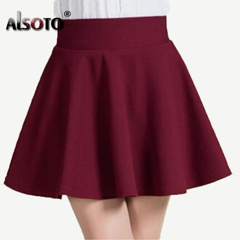 d9326c7ee2b $10.22 - Nice New 2017 Summer style sexy Skirt for Girl lady Korean Short  Skater Fashion female mini Skirt Women Clothing Bottoms - Buy it Now!