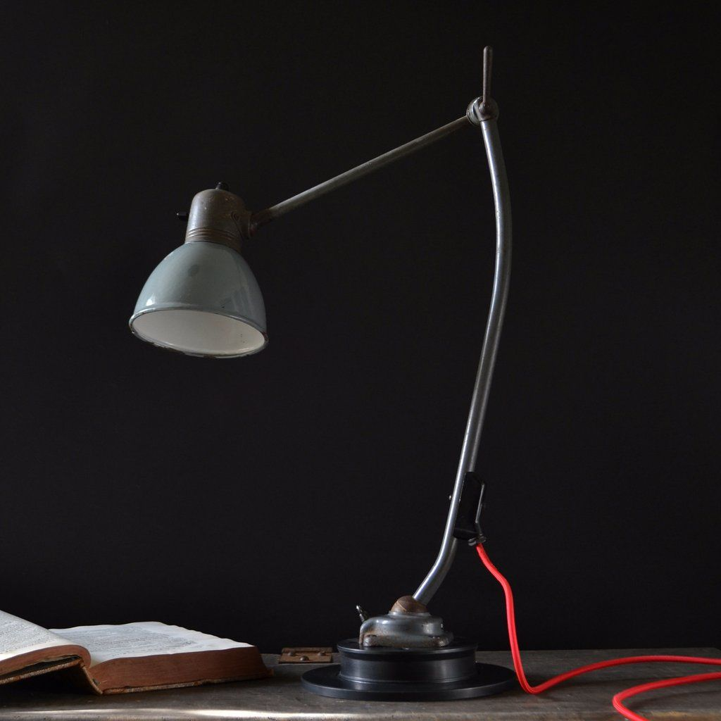 Machinists Desk Lamp Manufactured by Kandem Type 802