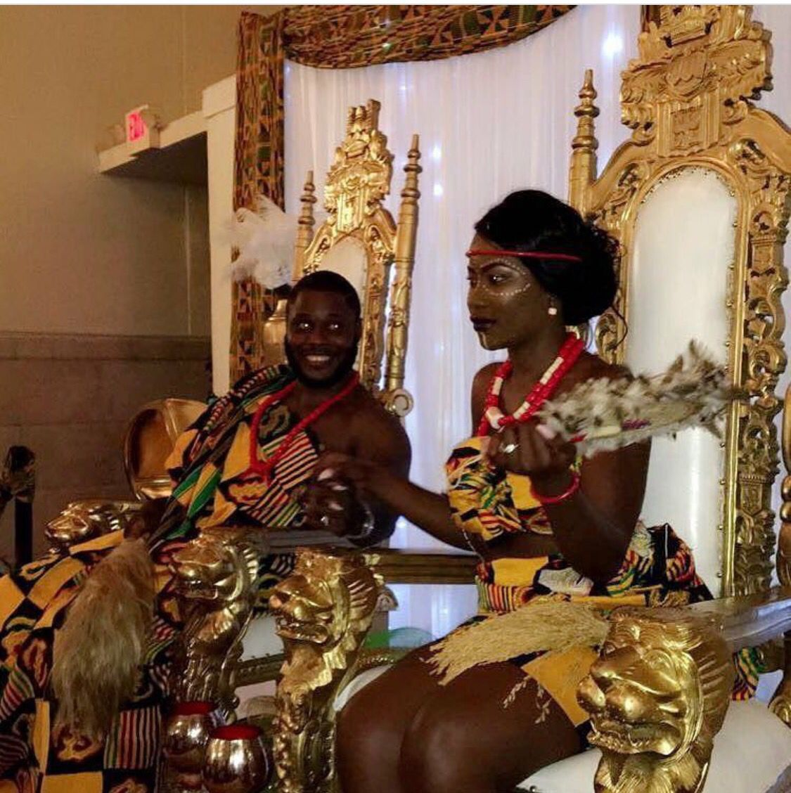 Congratulations To Mr And Mrs Kufour On Their Union Angie Is Liberian