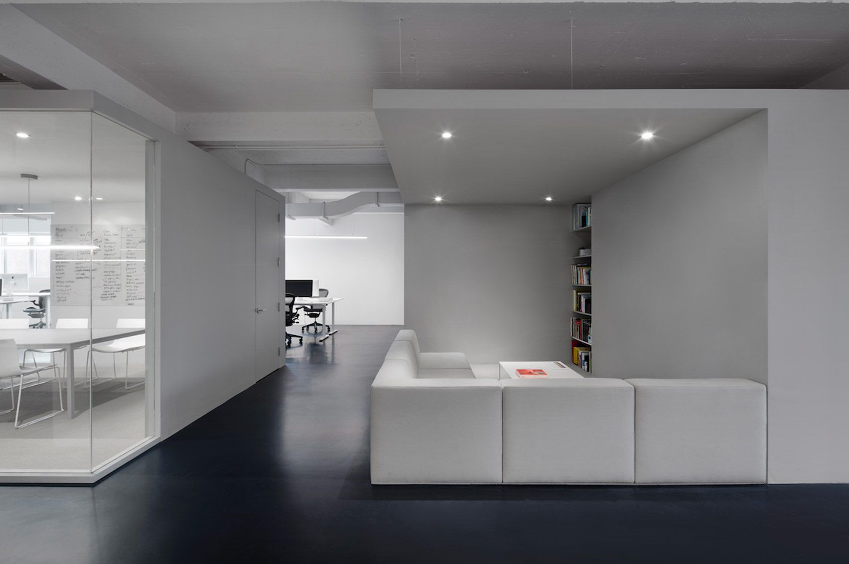 company tidy office. Anne Sophie Goneau Creates Stark Office For Dynamo In Montreal Company Tidy W