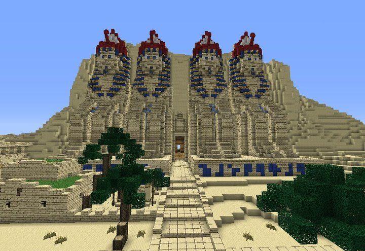Minecraft Egypt Map.Minecraft Egypt Project Egyptian City Project Minecraft