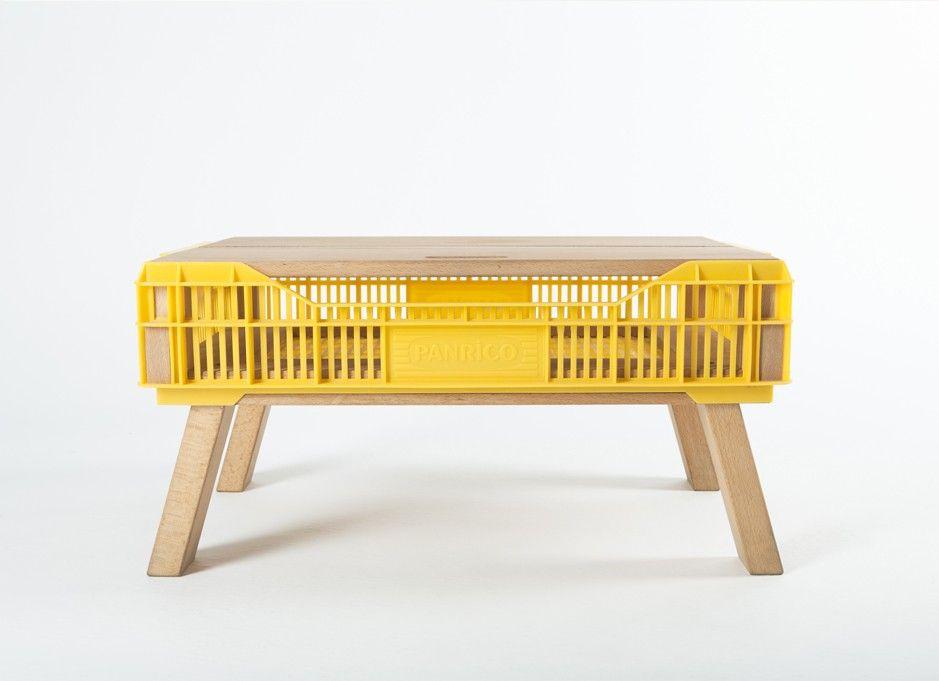 Muebles con contenedores pl sticos dise o y reutilizaci n for Diseno de oficinas con contenedores