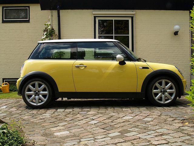 Mini Cooper S Yellow