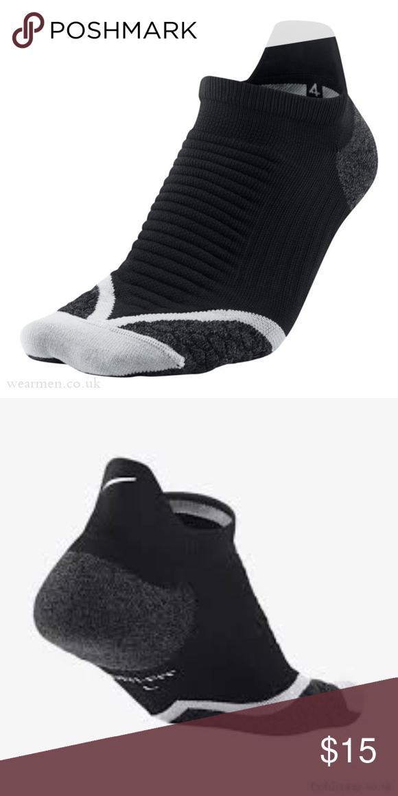 Nike Elite Cushioned Running No Show Tab Socks Nike Elite