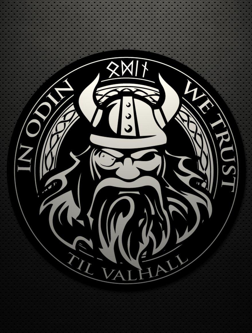 табличкой изображением картинки с символикой викингов вами