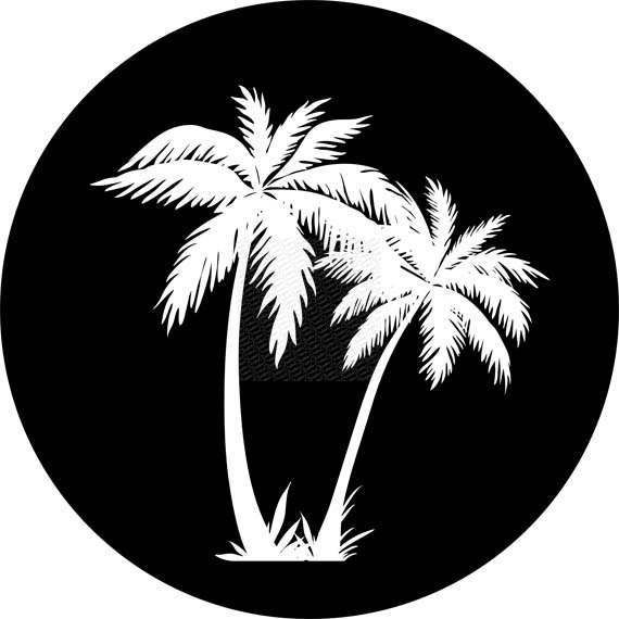 Palm Trees Tire Cover Custom Made For You Sold Order