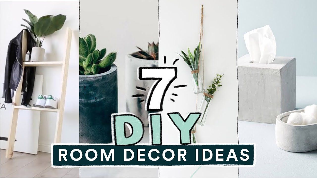 7 Diy Easy Room Decor Ideas Pinterest Inspired Lone Fox Youtube Pinterest Home Decor Ideas Tumblr Room Decor Easy Room Decor