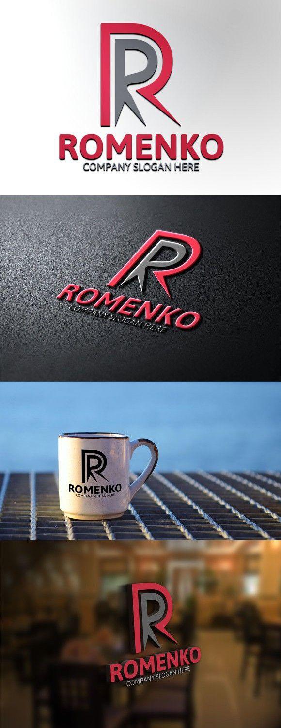 Romenko / R Letter Logo Letter logo, Lettering, Real