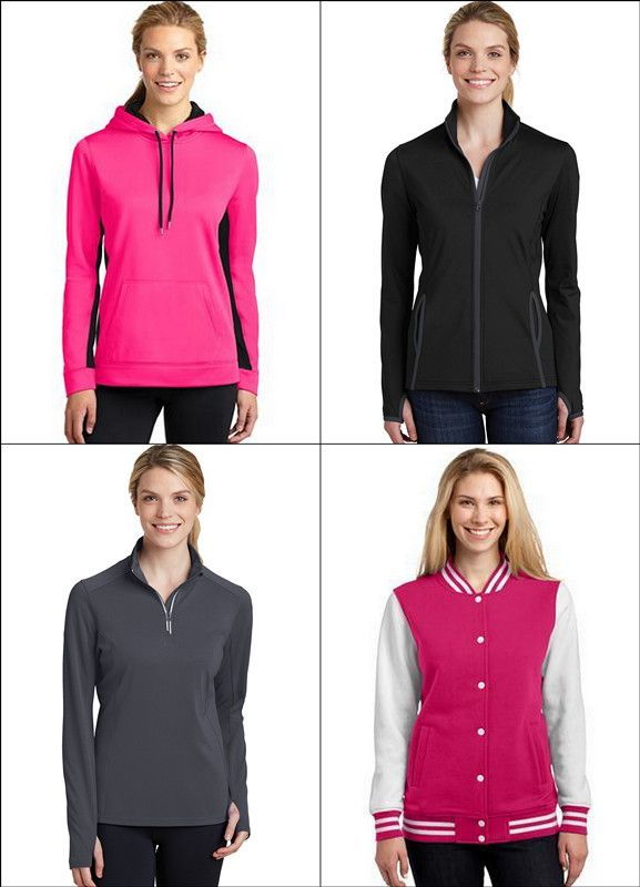 Sport-Tek Popular Fall Apparel for Women from NYFifth