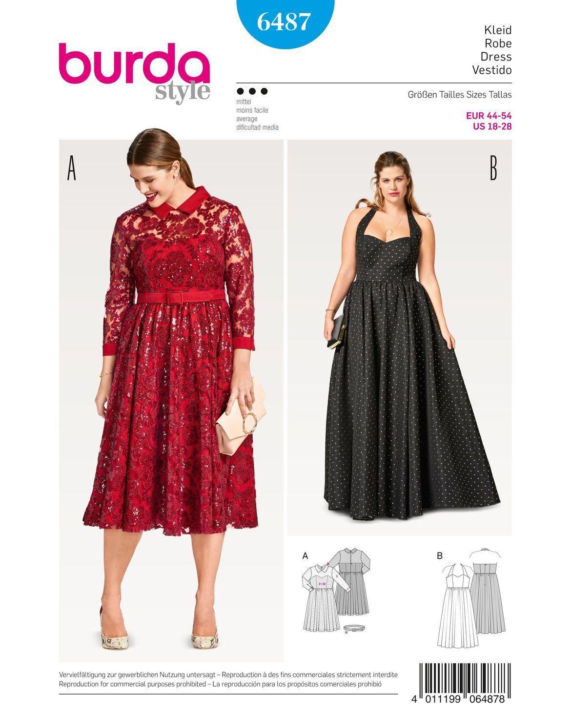 Lange Abendkleider Selber Nähen in 14  Abendkleid