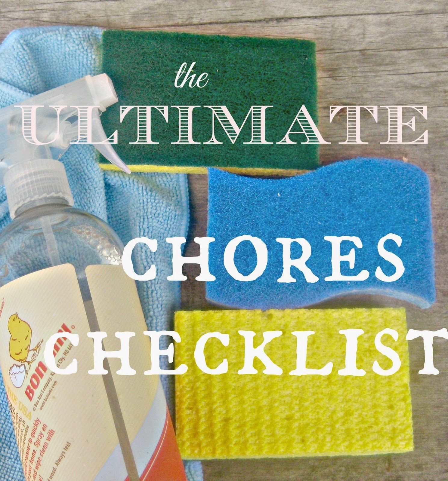 the best cleaning routine with an epic weekly monthly and yearly chores list to
