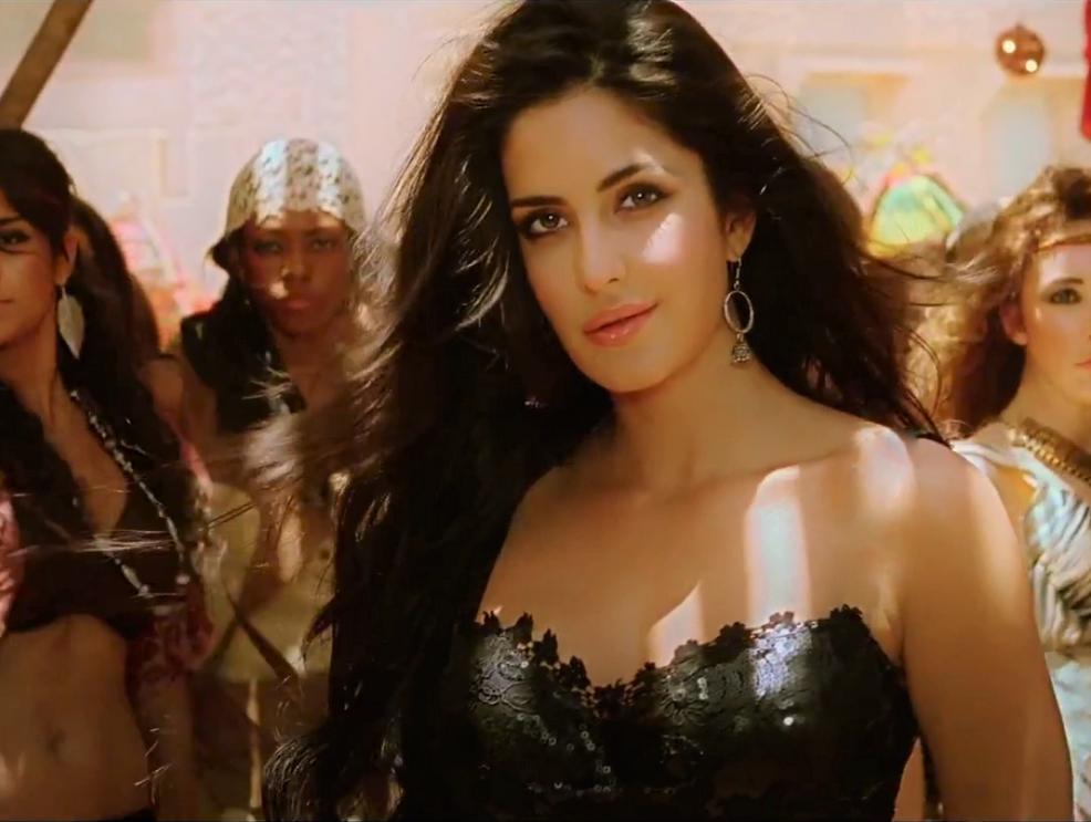 Katrina Kaif In Ek Tha Tiger Movie Mashallah Song Picturized And Designed By Junaid Ullah Butt