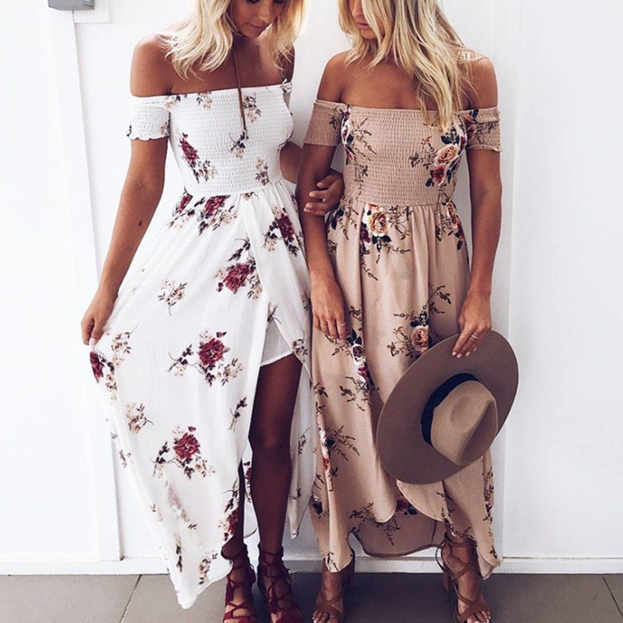 Boho Fashion Summer Beach Outfit Ideas for Women Casual
