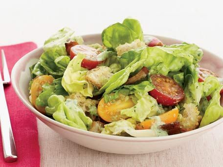 BLT Salad - healthy alternative to a comfort food staple