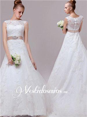 vestido de novia sencillo y elegante - Buscar con Google | hermosos ...