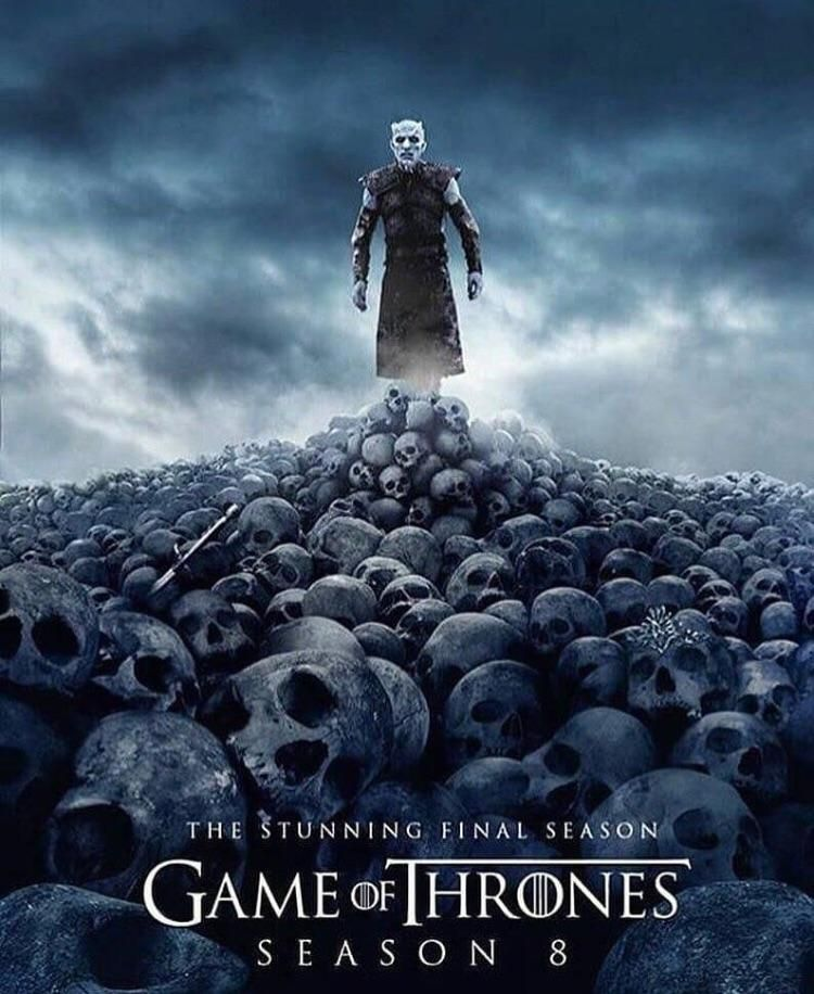 Spoilers New Poster Of Season 8 Game Of Thrones Poster Game