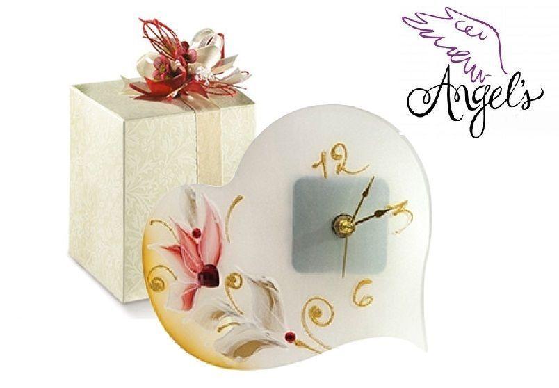 Célèbre Bomboniere matrimonio nozze segna posto l/passion orologio cuore  SU35