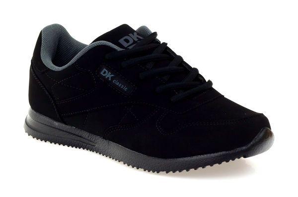 Buty Sportowe Dk 15534 Czarne Black Sneaker Air Force Sneakers All Black Sneakers